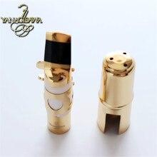 Japanese original Yanagisawa  Sax metal mouthpiece Please select  Alto mouthpiece  Tenor mouthpiece Yellow Brass