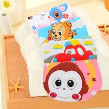 Special Sale Four-layer Baby Cotton Sweat-absorbent Towel Gauze Childrens Sweat Pattern Random