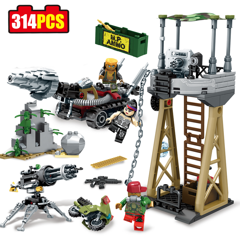 Sembo Blocks Black Gold Series Building Blocks Compatible Legoed Military Army Combat Troops Chariot Enlighten Toys For Children pvc building blocks army field combat military escort weapons
