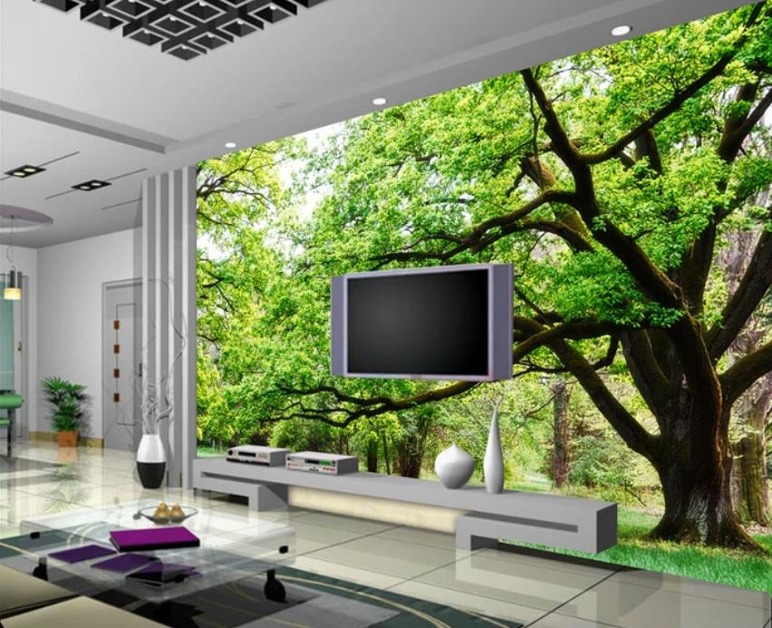 Custom photo wallpaper Nature scenery for kids room Living ...