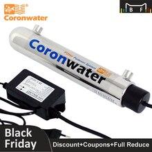 Coronwater 1gpm воды УФ дезинфекции стерилизатор очистки Системы для бытовой фильтр для воды