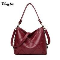 KXYBZ Luxury Famous Brand Female Casual Handbags Embroidery Top Handle Women Shoulder Bag Ladies Crossbody Bag