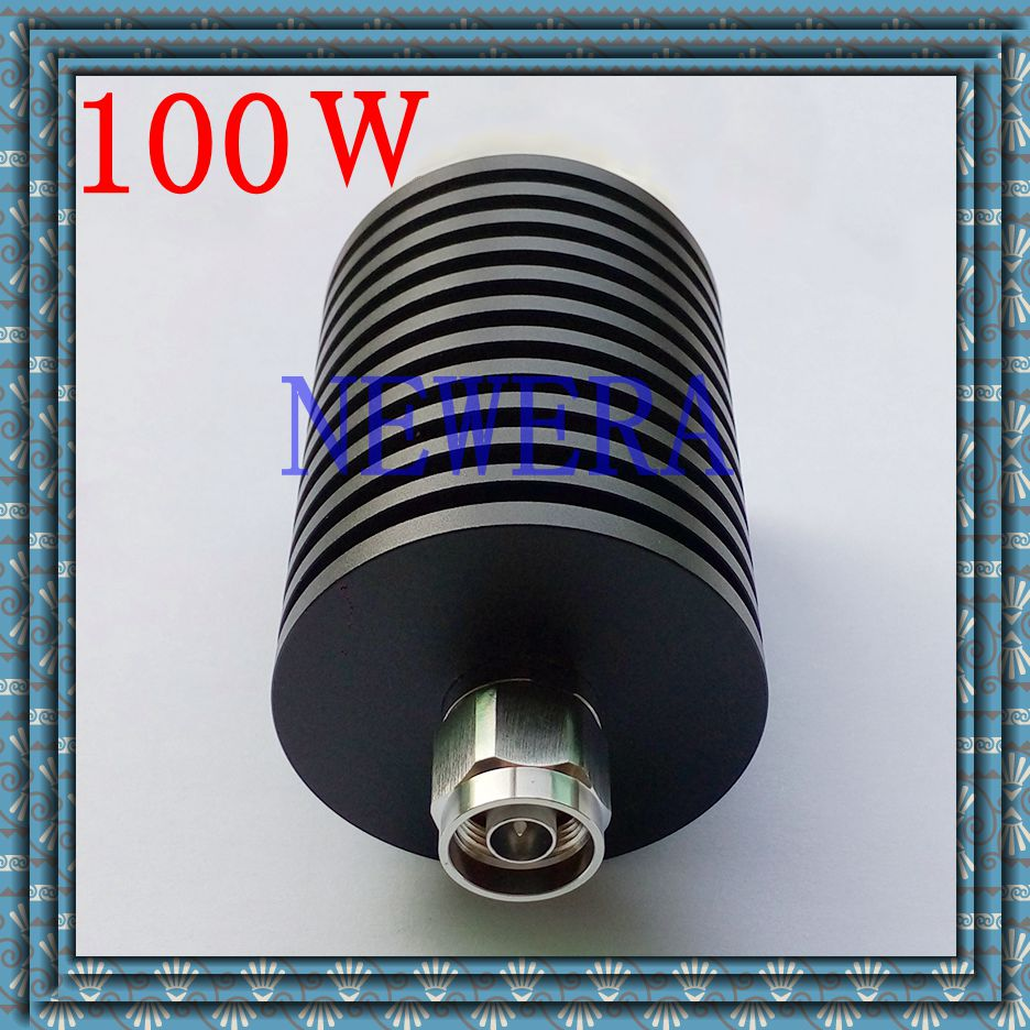 100w N connector rf termination load DC-3GHz 50 ohm N termination load 10pcs 100pcs rf coax connector n kfd water proof n connector mount on plange