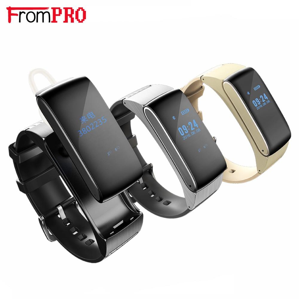 Bluetooth Smartband DF22 Smart bracelet watches HiFi Sound Headset Digital Wrist Calories Pedometer Track Fitness Sleep