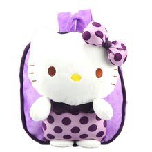 Hot Sale New hello kitty plush backpack hello kitty school bag CHILDREN BACKPACK children plush kid