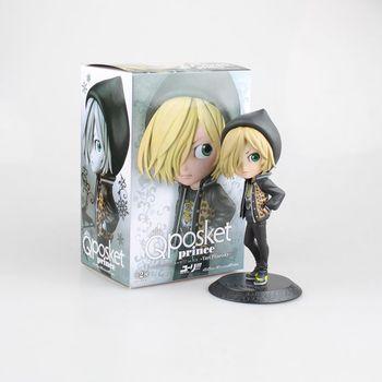 15cm Cartoon Anime The ice Yuri figure toy Yuri on Ice Kawaii Cute Style Plisetsky & Victor