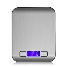 Kitchen Electronic Scale Kitchen Mini Scale Stainless Steel Precision Jewelry Electronic Balance Weight Gold (5000gx0.1g) new 100g 50g 0 001g digital precision scale for jewelry gold herb lab weight milligram scale electronic balance accurate scale