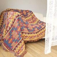 ESSIE HOME Kilim Carpet For Sofa Living Room Bedroom Rug Yarn Dyed Sofa Blanket Turkish Ethnic Pattern Bedspread Tapestry