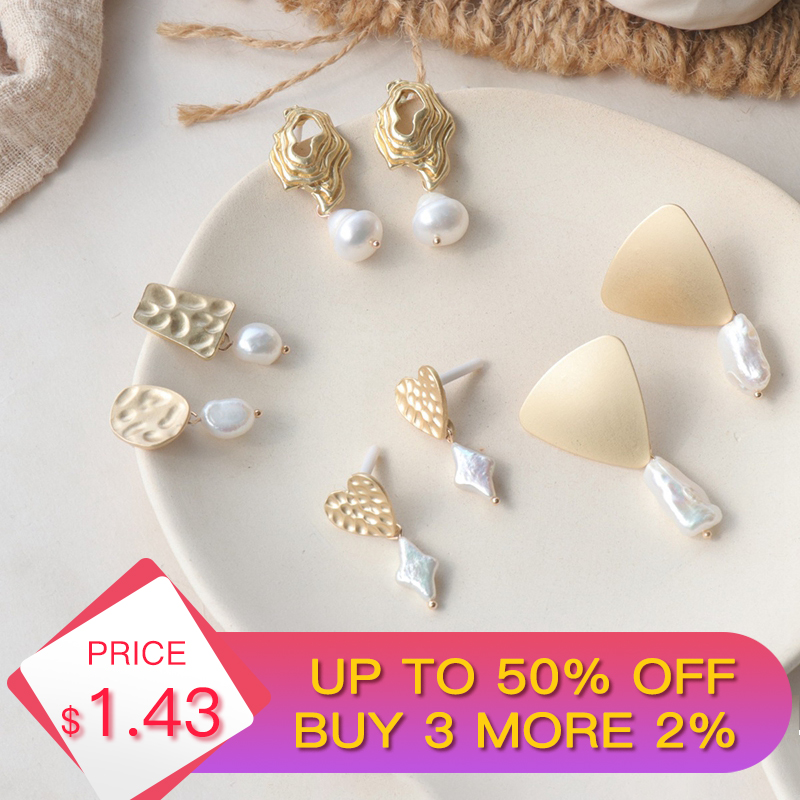 H:HYDE New 8 Styles Freshwater Pearl Long Drop Earring For Women Fashion Dangle Earrings Vintage Maxi Statement Accessories 2019-in Drop Earrings from Jewelry & Accessories on Aliexpress.com | Alibaba Group