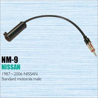 Car Radio Antenna Adapter Cable Wire For Nissan 1987 2006 Aftermarket Stereo CD DVD GPS Installation