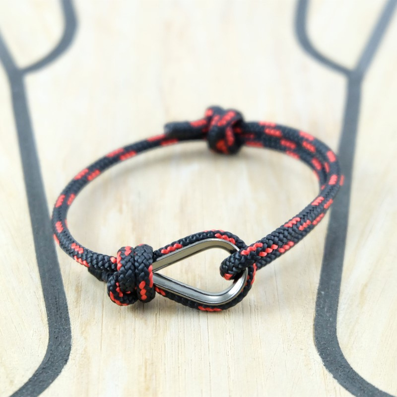 MKENDN New Fashion Sport Camping Parachute Navy Blue Cord Men Women Nautical Survival Rope Chain Bracelet Summer Style