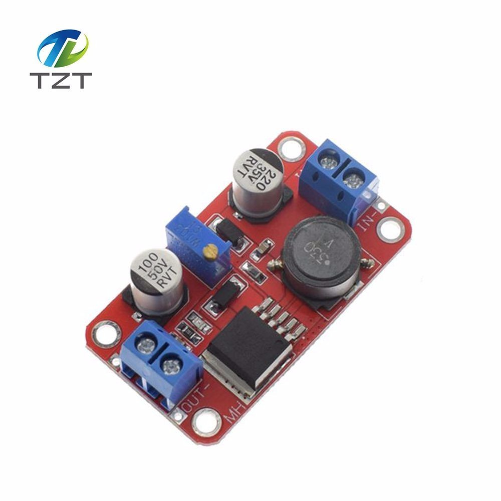 1pcs Tzt Dc Auto Boost Buck Adjustable Step Down Converter Xl6009 Circuits Apmilifier 5v To 12v Lm2577 Up Voltage Power Supply Module Regulator