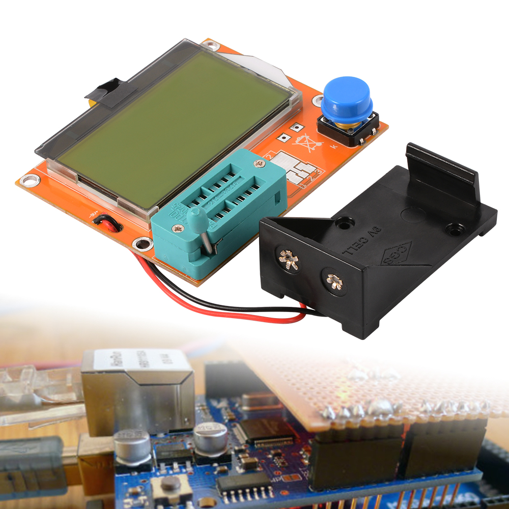 Lcr T3 Lcd Transistor Diode Tester Mos Meter Capacitor Resistor Circuit 1 X Graphical Multi Function