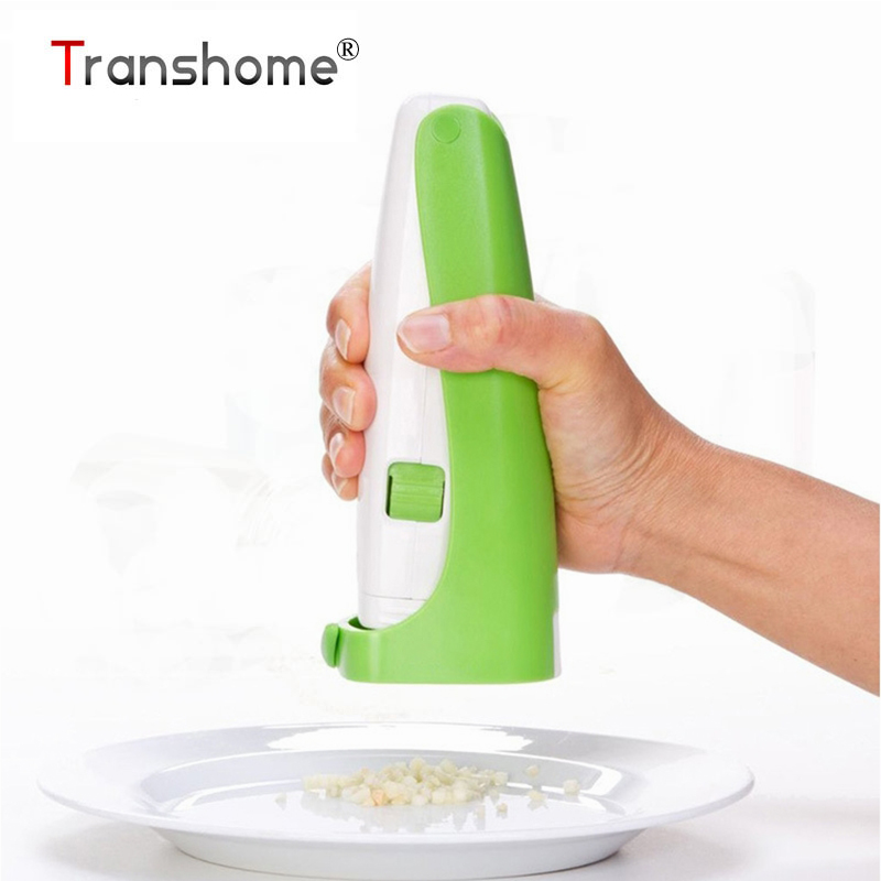 Transhome 1Pcs Multi-Function Garlic Cube Presser Grater Garlic Mincer Fruit Vegetable Tools Kitchen Tools Gadget Accessories