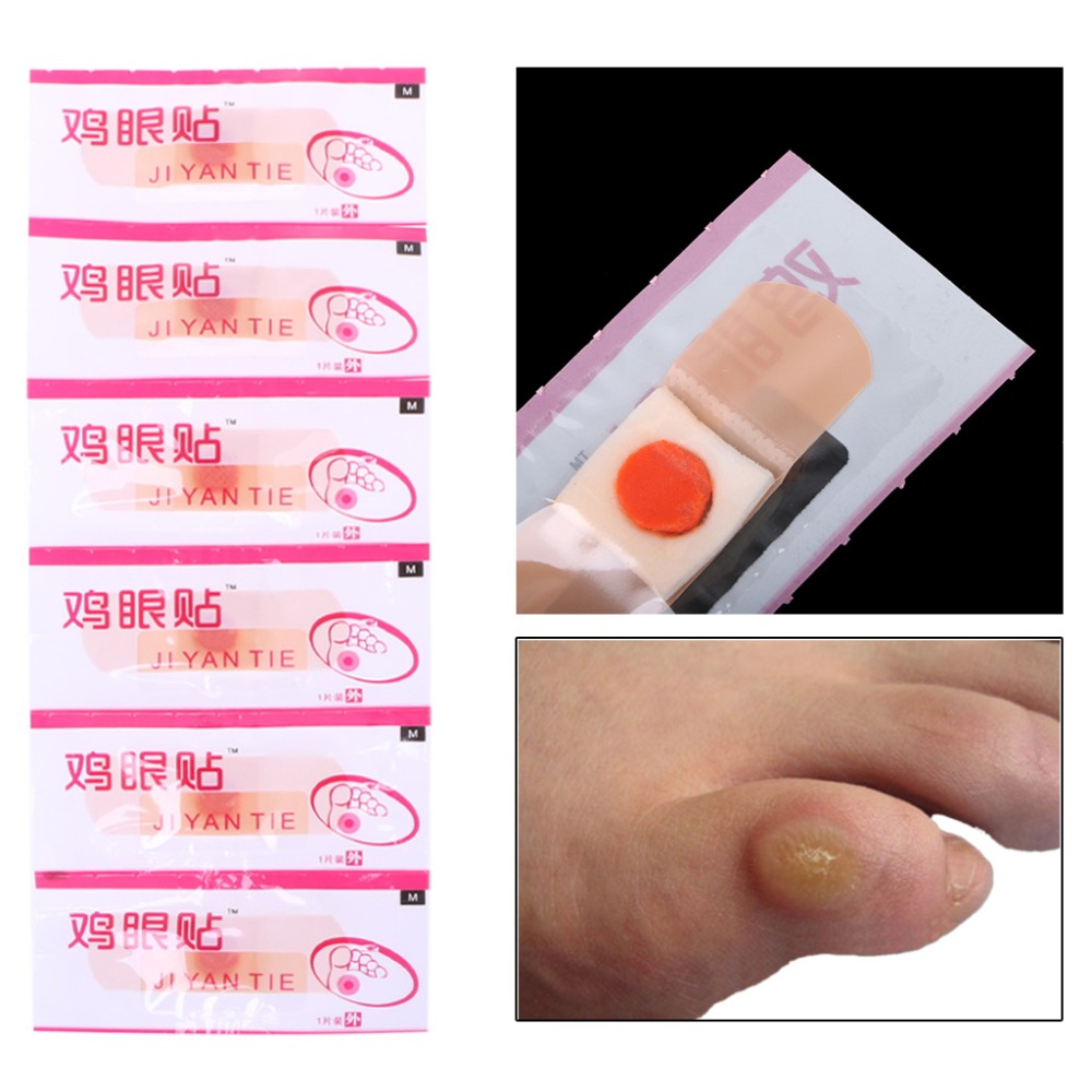 6Pcs Foot Patch Corn Treatment Removal Calluses Medical Plaster Health Care New