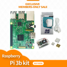 Raspberry Pi 3 Model B Board kit 1GB LPDDR2 BCM2837 Quad-Core Ras PI3 B,Ras PI 3B,Ras PI 3 B with WiFi&Bluetooth jbh 6n2 6p1 tube amplifier hifi exquis class a single ended lamp amp finished product with below plate
