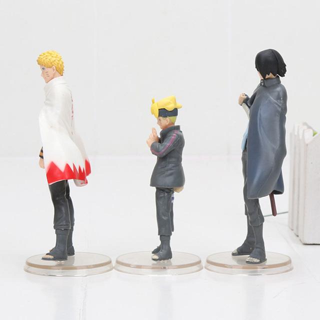 Boruto Naruto Uchiha Sasuke Action Figure (3pcs/lot )