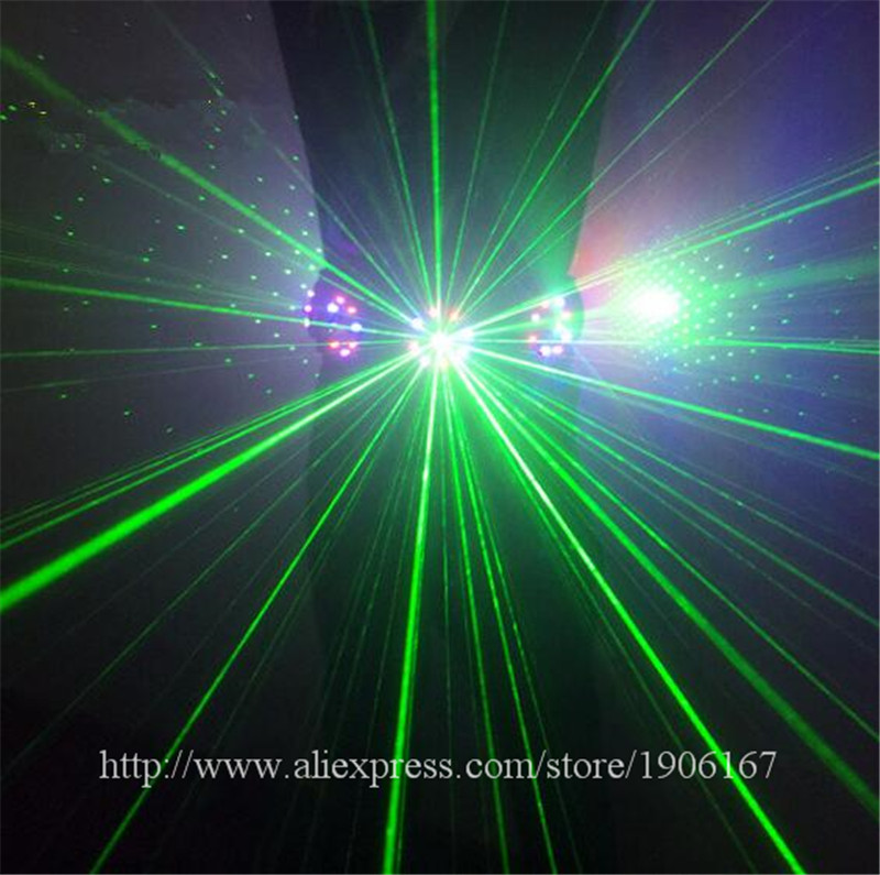 New Design Green Laser Waistband Belt Colorful Led Girdle Christmas Halloween Nightclub Performers Dancer Singer Stage Wear