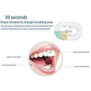 Image 2 - Электрическая зубная щетка LANSUNG U1, перезаряжаемая звуковая зубная щетка, ультразвуковая зубная щетка, звуковая щетка для взрослых и детей