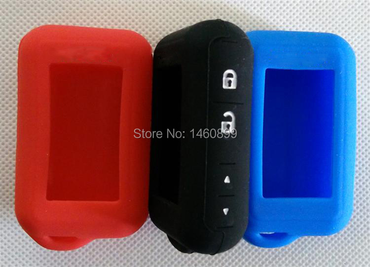 Silicone Key Case with LOGO For Russian Version 2 way car alarm Starline E60 E61 E62 E90 E91 Remote Key Fob E90/E91/E60/E61/E62