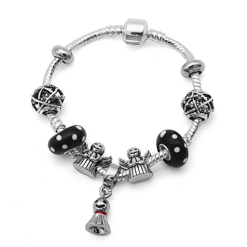 New Sunny Dolls pendant Charm Bracelets for Women Man bracciale Pan bracelet natural stone Bead bracelet men hombre gift