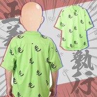 Аниме ONE PUNCH-MAN Saitama Косплей рубашка футболка с коротким рукавом Блузка
