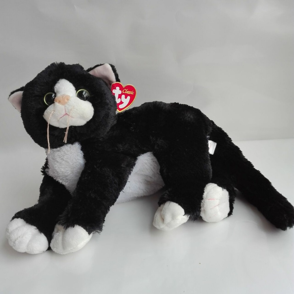 New Arrive Shadow Cat TY Classic 1PC 40CM Plush Toys