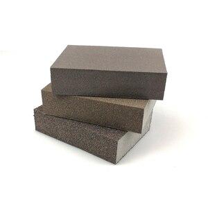 Image 2 - 20 peças de lixar esponja bloco abrasivo espuma almofada para madeira parede cozinha limpeza mão moagem