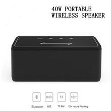 Active Column Sound System Music Center High Power Bluetooth Party Speakers Hi-Fi Portable Box Touch Boombox Cordless