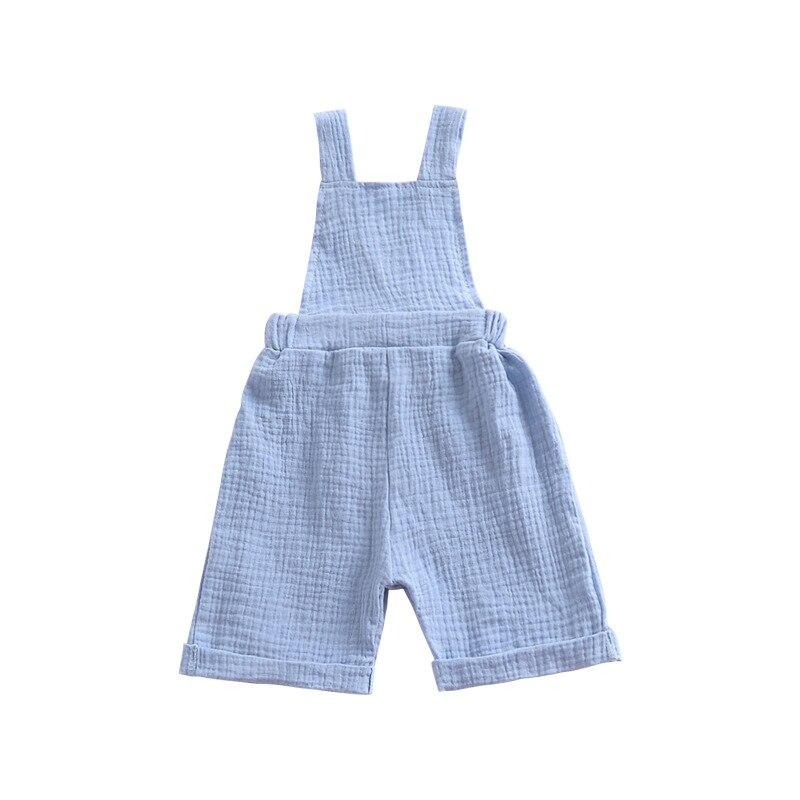Blau Overalls Kleinkind Kinder Jungen Mädchen Sommer Mode Overall Strumpf Hosen 2018 Kinder Kleidung Salopette Fille 12 Mt Mutter & Kinder 4 T