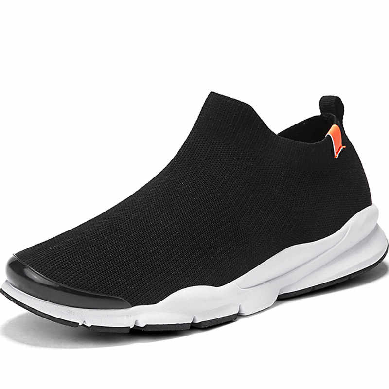 Hundunsnake לסרוג גרבי ריצה נעלי ריצה נשים של לבן ספורט נעלי נשים ספורט נעלי גברים אתלטי נעלי T669