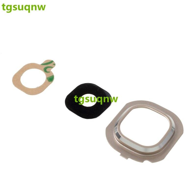 Rear Camera Lens Cover Ring For Samsung Galaxy J7 (2016) J710 / J5 (2016) J510  Back Camera Glass Lens White/Black/Gold