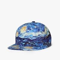 2019 New Men Womens Graffiti 3D printing Baseball Cap Hip Hop Caps Sun Hat Snapback Hats