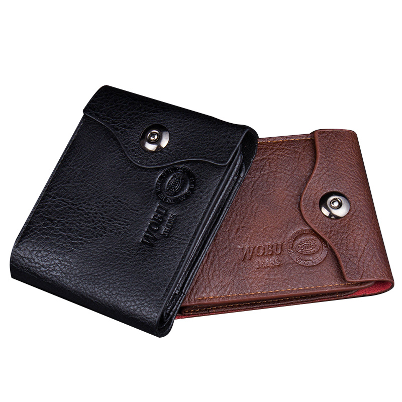 Luxury Brand Men Soft Cowhide Leather Small Credit Card Holder Money Wallet Short Coin Purse bvp luxury brand weave plain top grain cowhide leather designer daily men long wallets purse money organizer j50