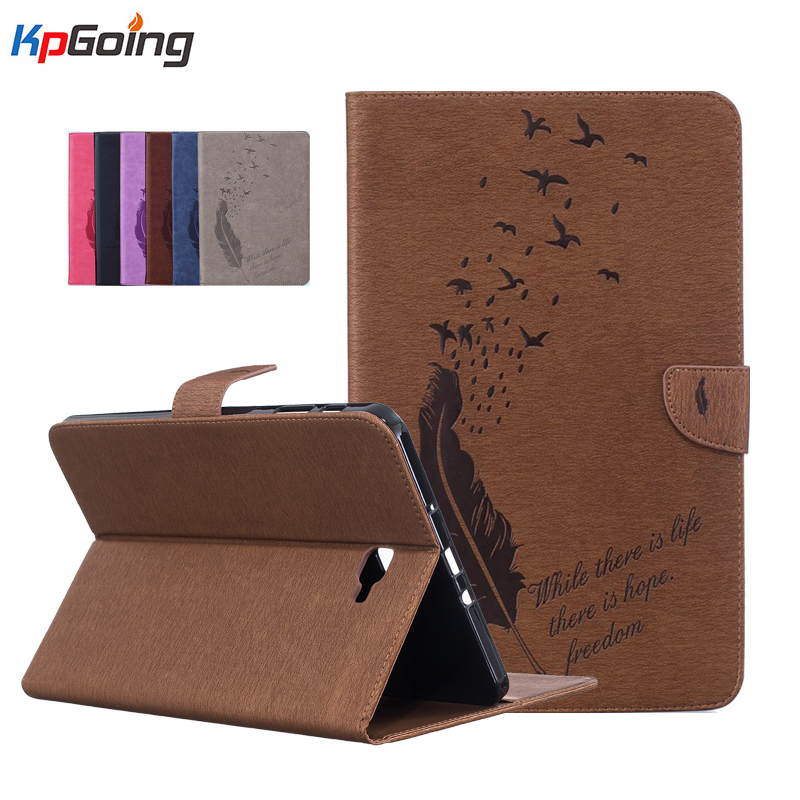 Bird Pattern Case for Samsung Galaxy Tab A 10.1 2016 T580 SM-T585 Cover for Samsung Tab A 10.1 T580 T585 10.1'' Tablet Cases slim folding cover case for samsung galaxy tab a 10 1 inch sm t580 sm t585 tablet 2016 release with multiple viewing angles