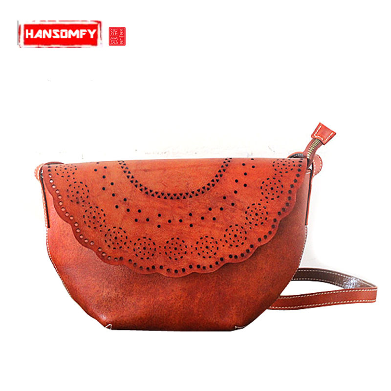 Original hand-wiping Women bag leather bag handbag retro first layer tannery personalized female bag shoulder Messenger bagOriginal hand-wiping Women bag leather bag handbag retro first layer tannery personalized female bag shoulder Messenger bag