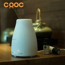 Фотография IMAYZEN 120ml  LED light 7 Color Change dry protect Ultrasonic Essential Oil Aroma Diffuser Air Humidifier Mist Maker(White)