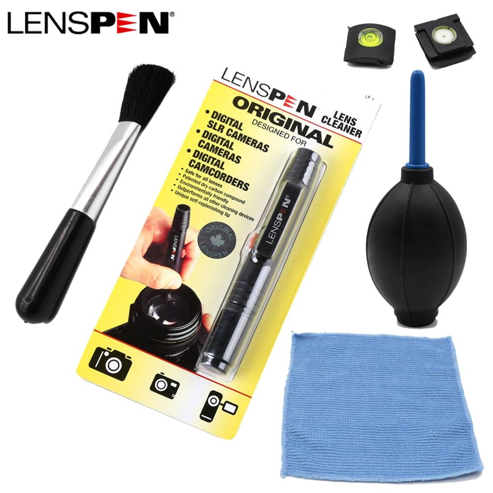 5in1 Dust Cleaner LENSPEN Lens Cleaning Suit Pen Brush Air Blower Wipes kit or Canon Nikon Sony Pentax DSLR SLR Camera Filters