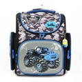 Оптовая Delune Высокой емкости машина рисунок ортопедические рюкзаки Ученик школы мешок детские рюкзаки ребенок рюкзак