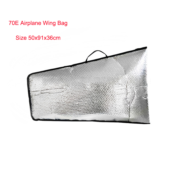 1 Piece Fixed Wing RC Airplane Model Protection Wing Bag 70E 50x91x36cm image