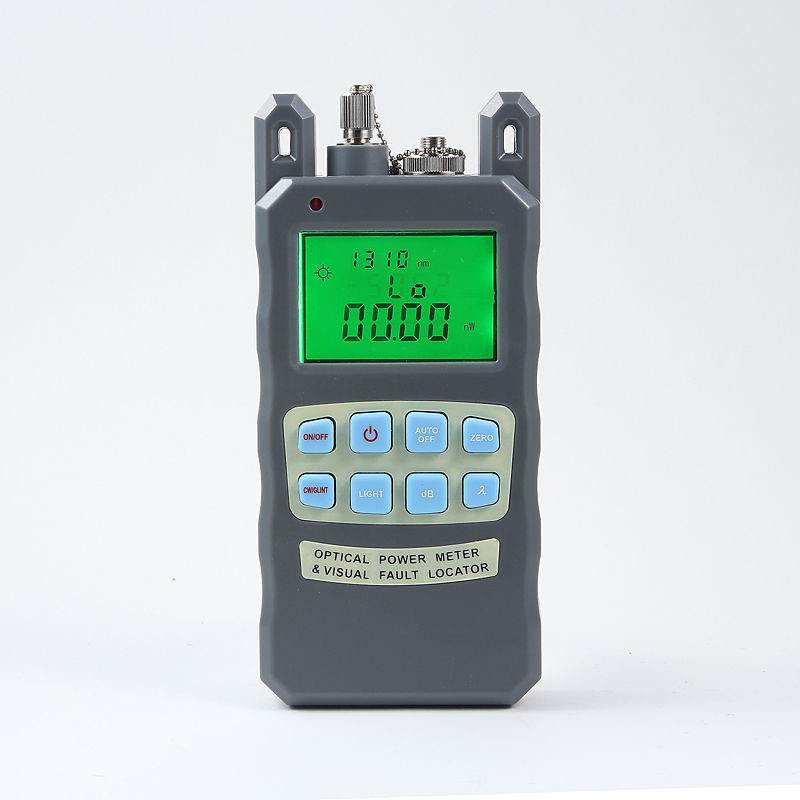Fiber optical power meter -70 to +10dBm and 1mw 5km Fiber Optic Cable Tester Visual Fault LocatorFiber optical power meter -70 to +10dBm and 1mw 5km Fiber Optic Cable Tester Visual Fault Locator