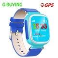 2017 kid gps smart watch reloj sos tracker dispositivo de localización de llamadas de Seguros para Niños Anti Perdido Monitor de Bebé Regalo Q80 PK Q50 Q60
