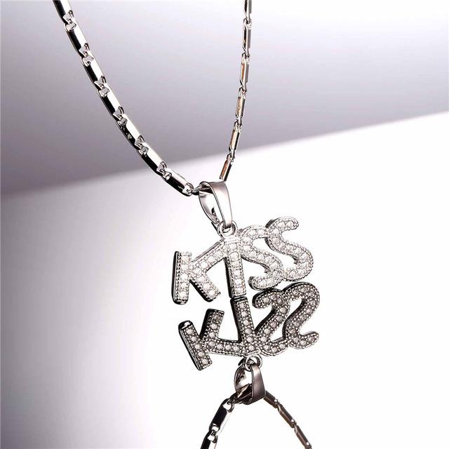 Cute Rhodium/Gold Plated Pendant & Chain