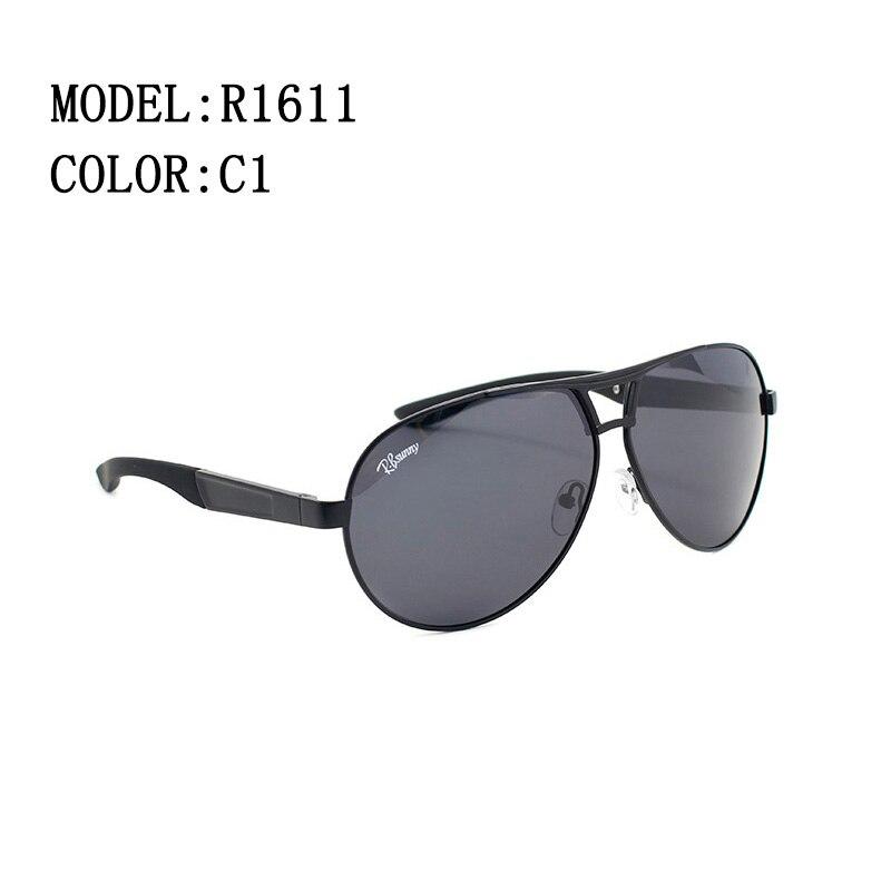 InicioModaModa gafas de sol polarizadas hombres de negocios clásico alta  calidad bloque conducción resplandor UV400 gafas R. bsunny R1611. Previous c2c45e3192d9
