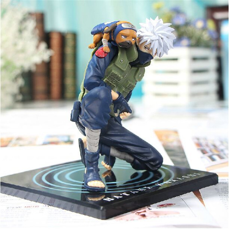 "15 Cm/6"" Figure Naruto Hatake Kakashi Three Types of Expressions"