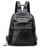 Hot New Casual Women Backpack Female Leather Women S Backpacks Black Bagpack Bags Girls Schoolbag Travel