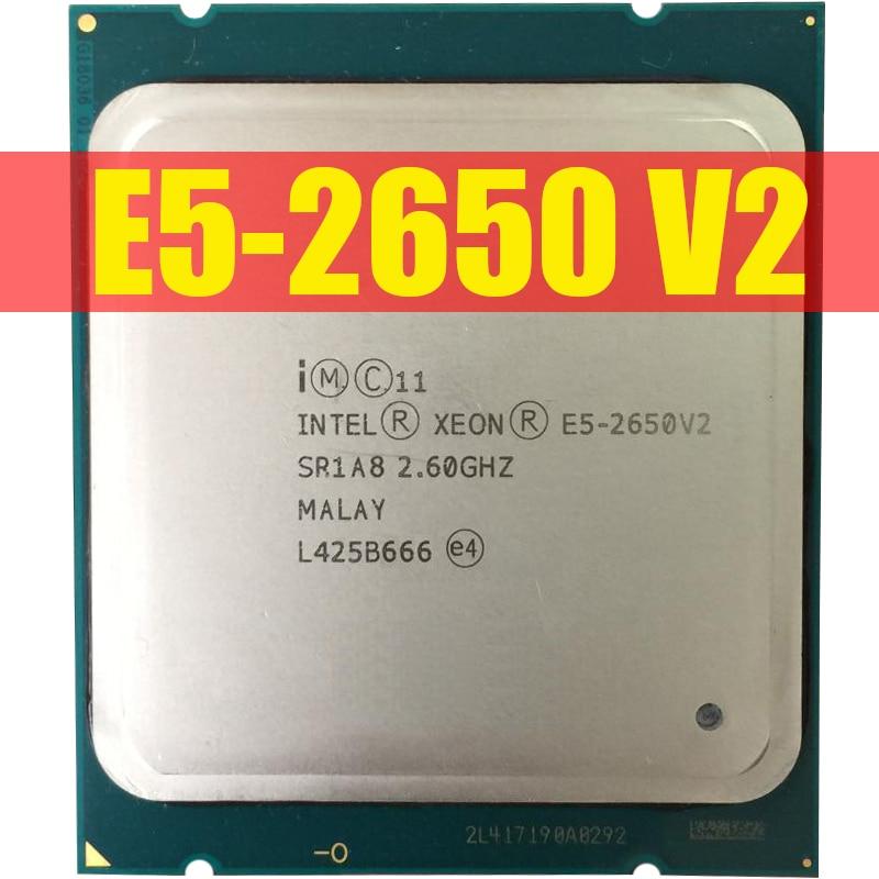 Intel Xeon Processor E5 2650 V2 E5 2650 V2 CPU 2 6 LGA 2011 SR1A8 Octa