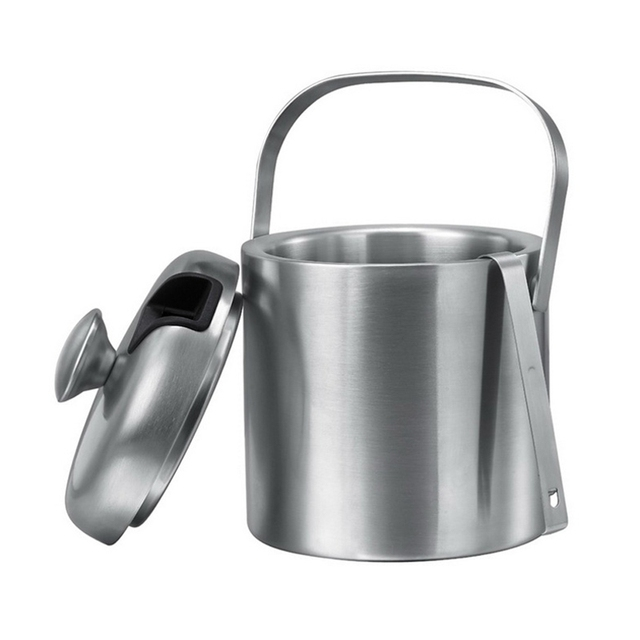 Double Layered Ice Bucket for Beverages