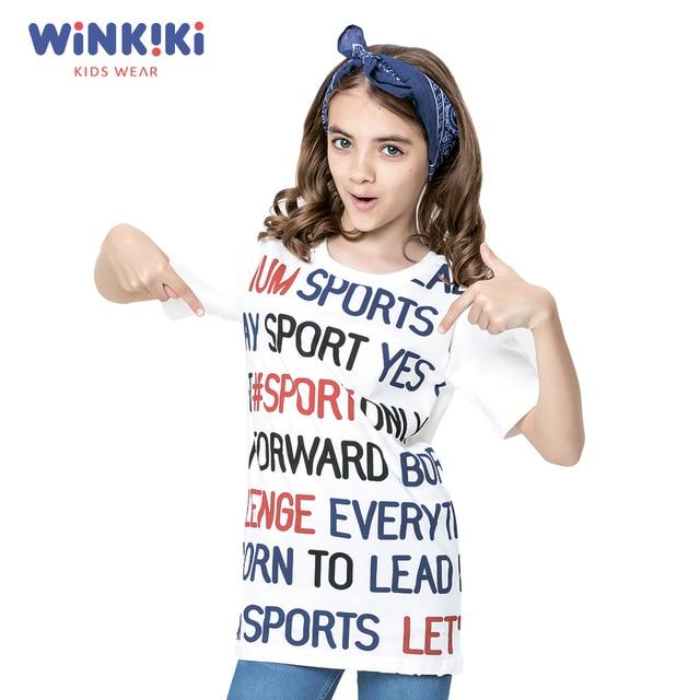 Футболка для девочки WINKIKI