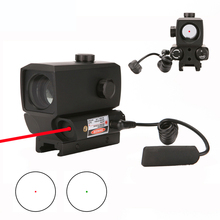 Tactical Red Green Dot Sight Scope Holographic Rifle Shooting Built-in Laser sight 20mm Rail For Hunting Riflescopes